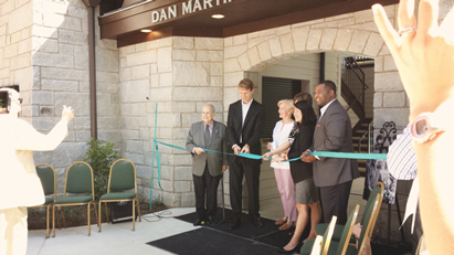 Dan Martin Pool House Ribbon Cutting Ceremony
